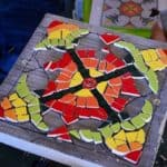 Classmate's Mosaic Table