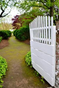 Inviting you in - Garden Gate at Eyre Hall