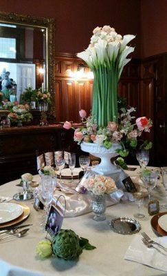 Norfolk Historic Garden Tour Tablescape