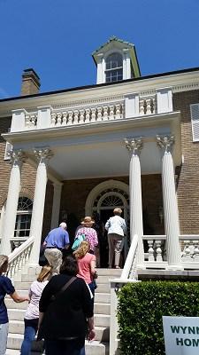 Norfolk Historic Garden Tour Visitors arriving