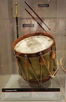Drum from Antietam Battlefield Visitor Center