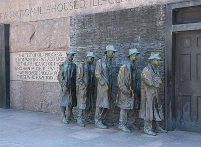 Franklin D Roosevelt Memorial Washington DC