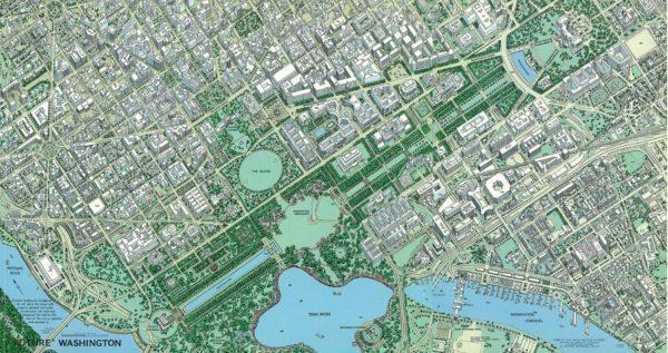 1967 Washington DC map NatGeo