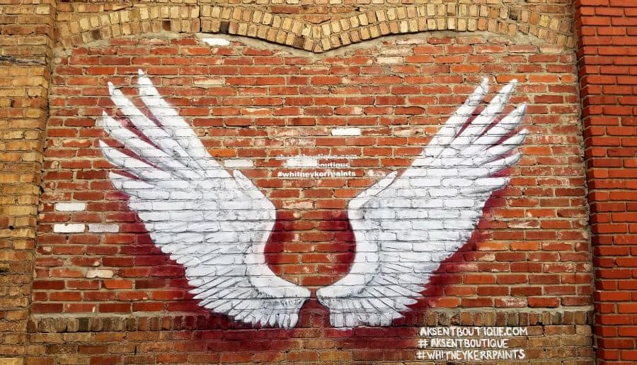 Americana, Street Art and Angel Wings in Abilene Kansas • Traveling with Purpose Americana, Street Art and Angel Wings in Abilene Kansas